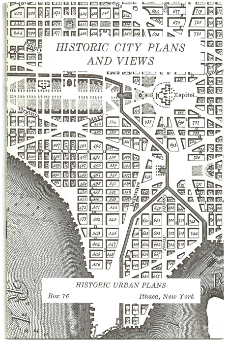 Historic Urban Plans -  Catalog Front Cover